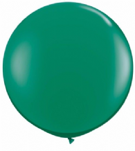 3ft Giant Balloons - Emerald Green Latex Balloon 1pc
